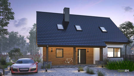 Современный дом на пять спален