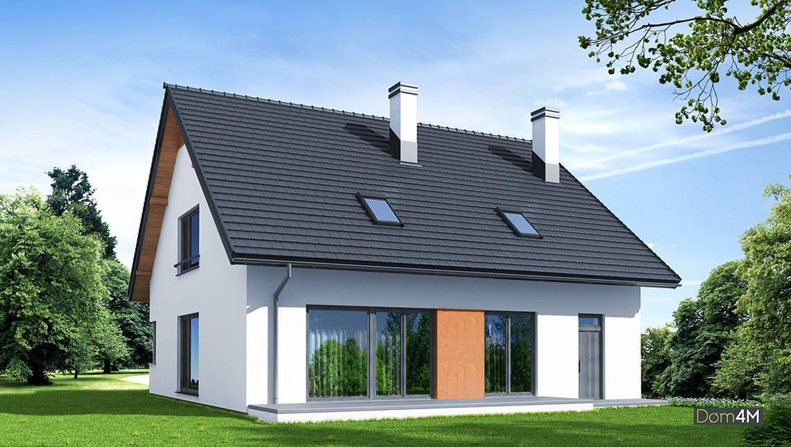 Красивый дом для загородного участка