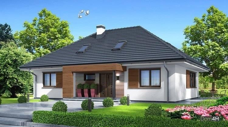 Красивый жилой дом с просторной гостиной