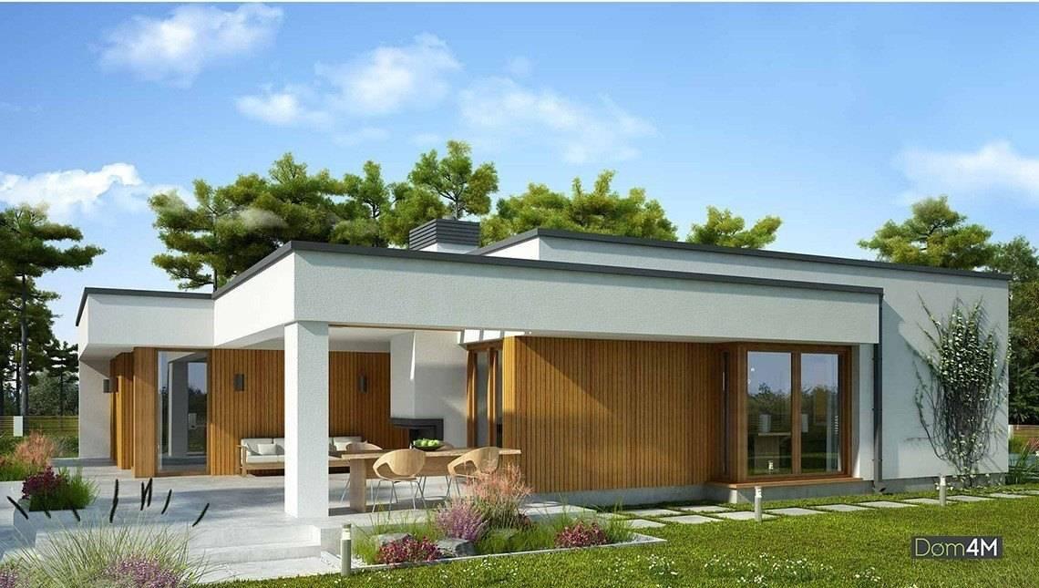 Современный дом с тремя спальнями и тремя санузлами