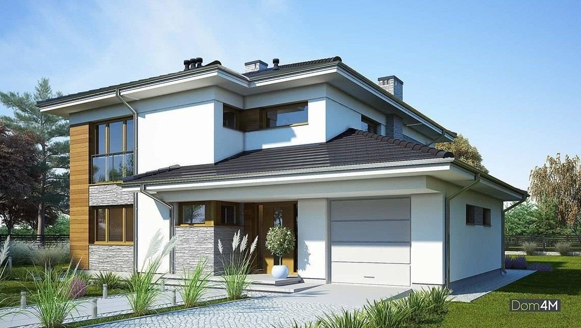 Стильный дом со вторым светом