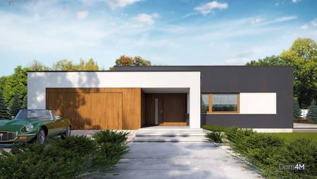 Элегантный одноэтажный дом повышенной комфортности