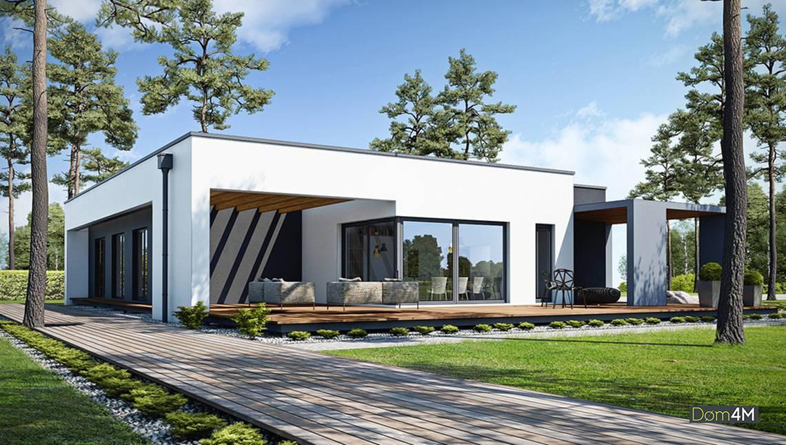 Восхитительный одноэтажный дом с уникальной планировкой