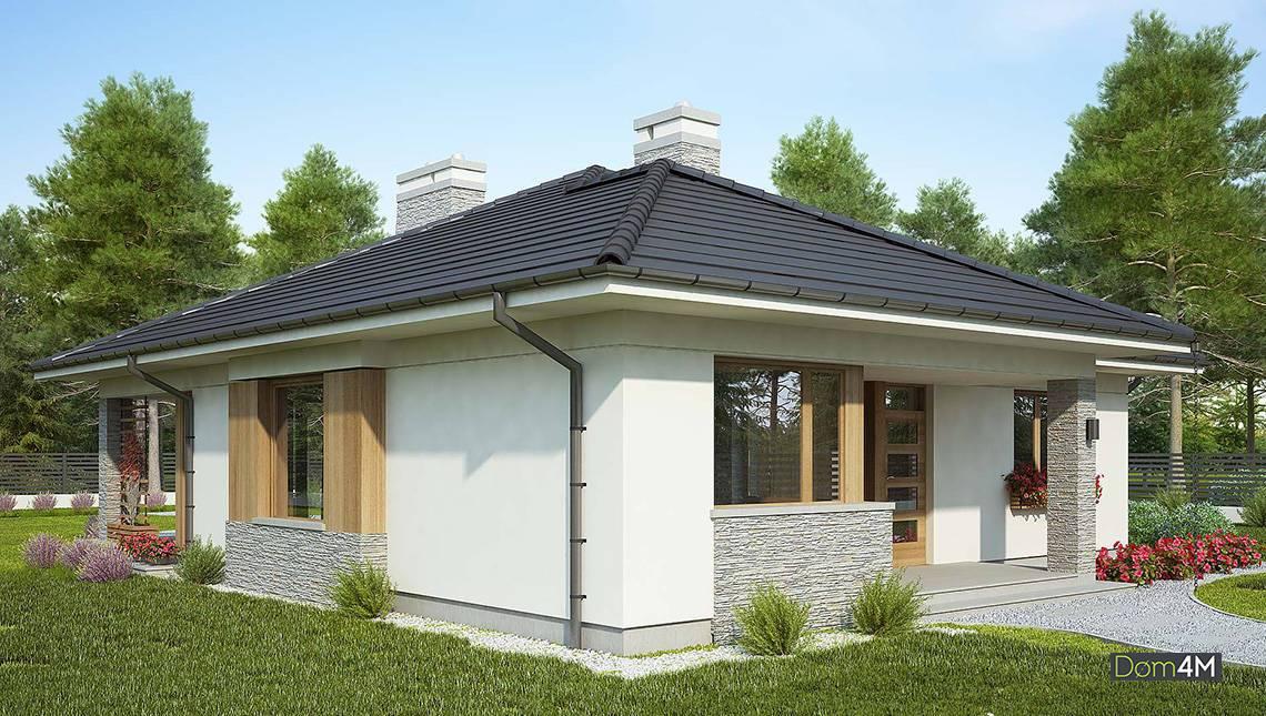 Элегантный одноэтажный дом с тремя спальнями