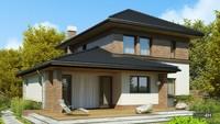 Комфортабельный дом для загородного участка