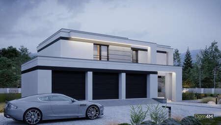 Проект современного стильного дома
