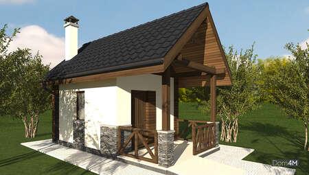 Проект домашней мастерской с подвальным помещением общей площадью 20 кв. м