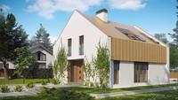 Проект современного недорогого и уютного светлого дома в Украине