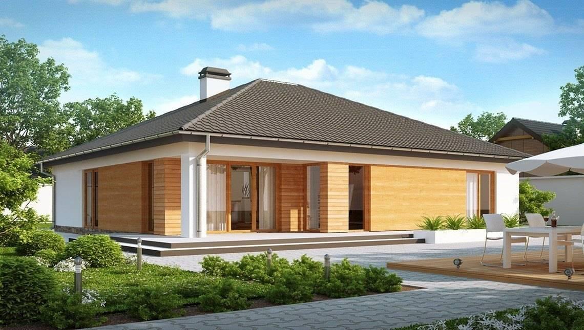 Проект дома с выступающим фронтальным гаражом