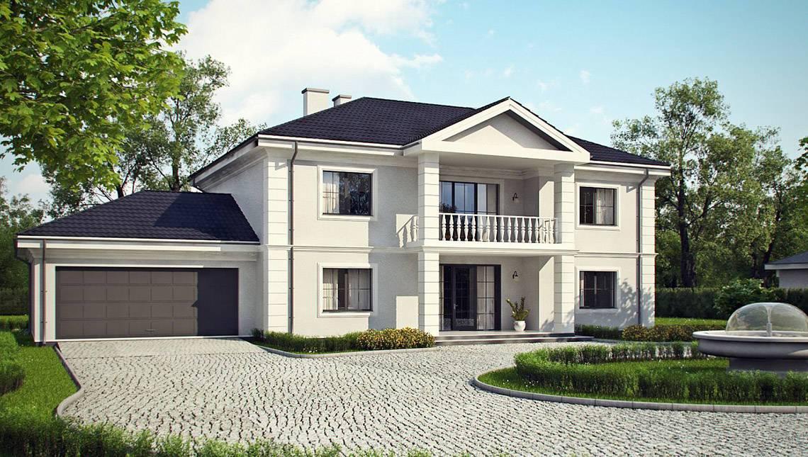 Проект особняка в дворянском стиле
