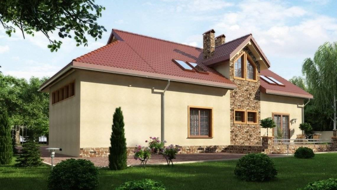 Большой удобный и просторный дом с мансардой