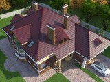 Роскошный, большой и красивый особняк
