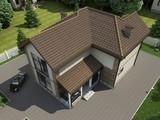 Шикарный двухэтажный особняк с 2-я террасами