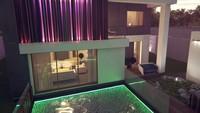 Проект модного двухэтажного дома хай тек