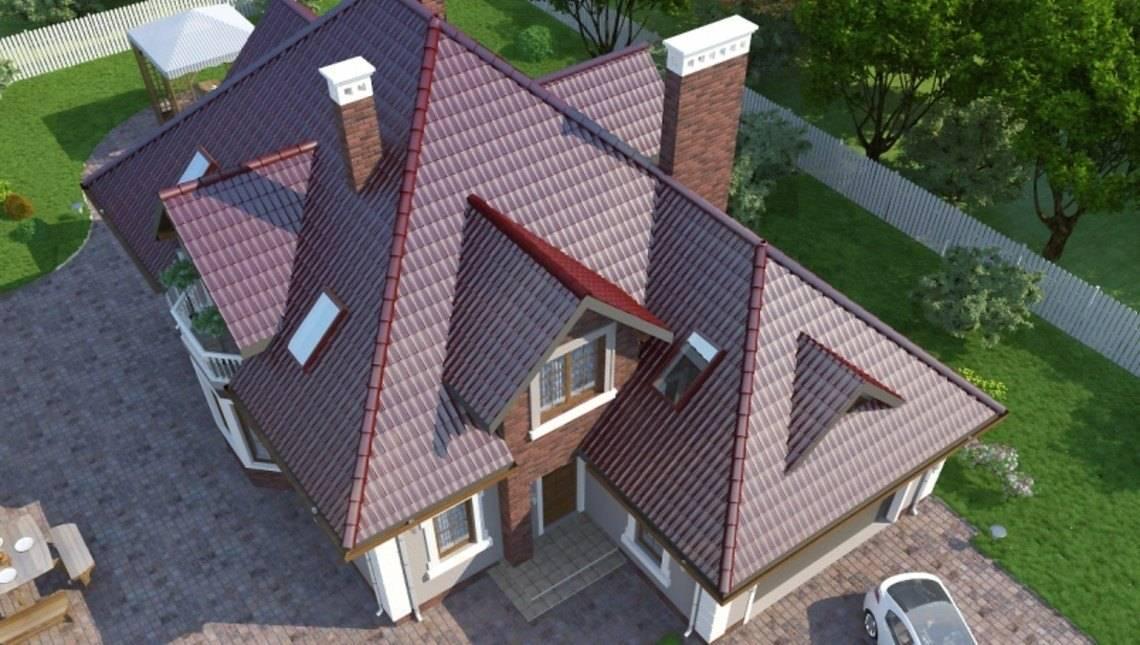 Большой просторный дом с мансардой