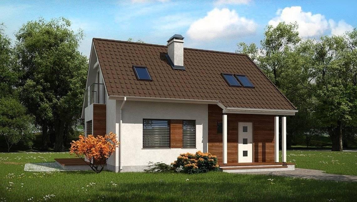 Проект компактного дачного дома для небольшого участка