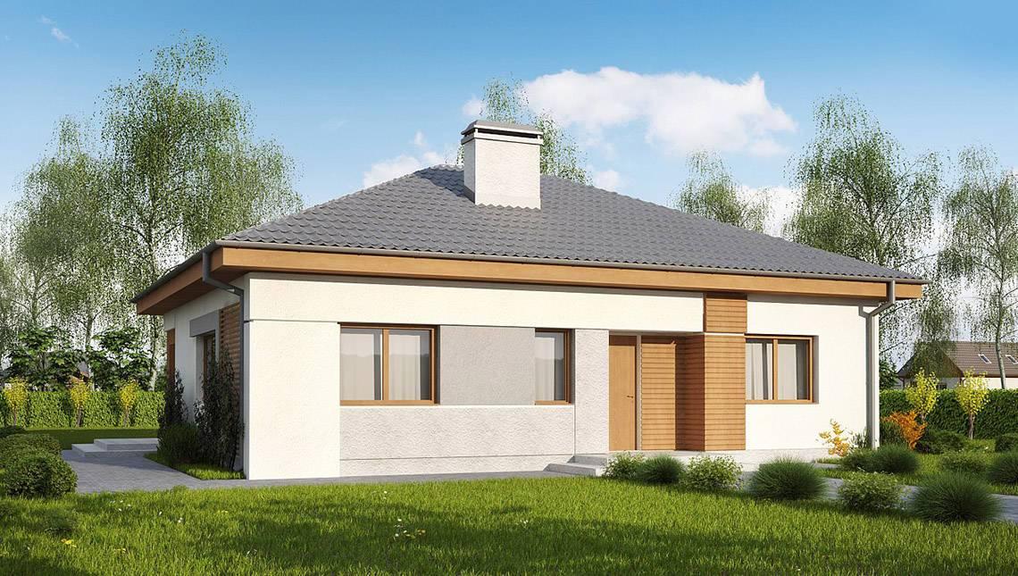 Проект дома по типу 4M314 с увеличенной гостиной