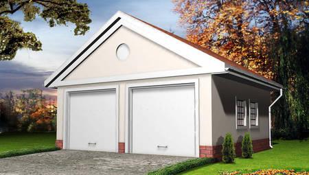 Классический гараж на 2-е машины