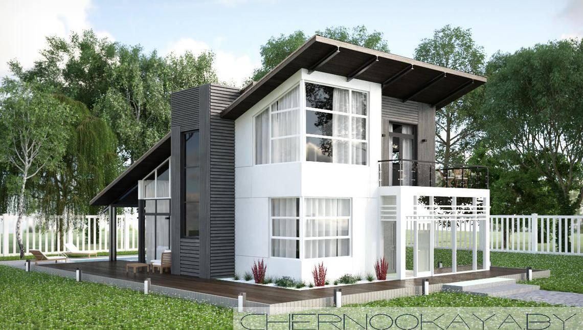 Проект необычного жилого дома