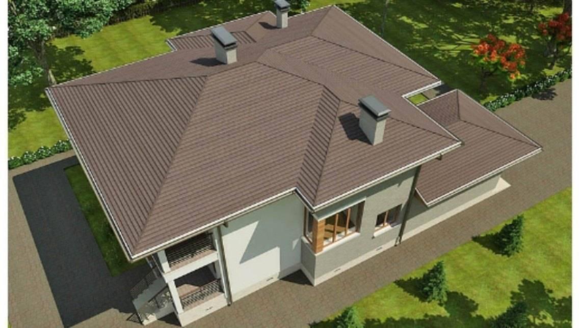 Проект современного дома до 300 m²