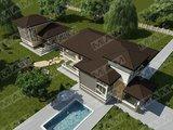 Проект необычного дома 280 m²