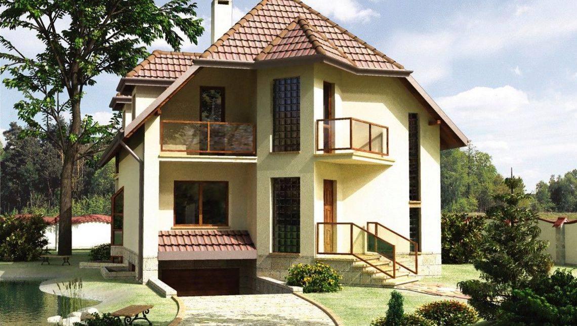 Интересный особняк жилой площадью 250м2