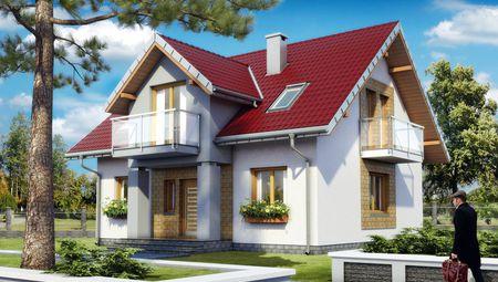 Современный дом с шестью спальнями