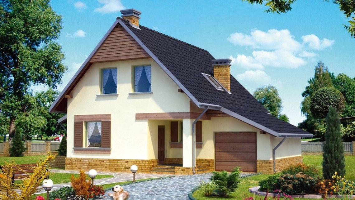 Современный уютный дом для дружной семьи