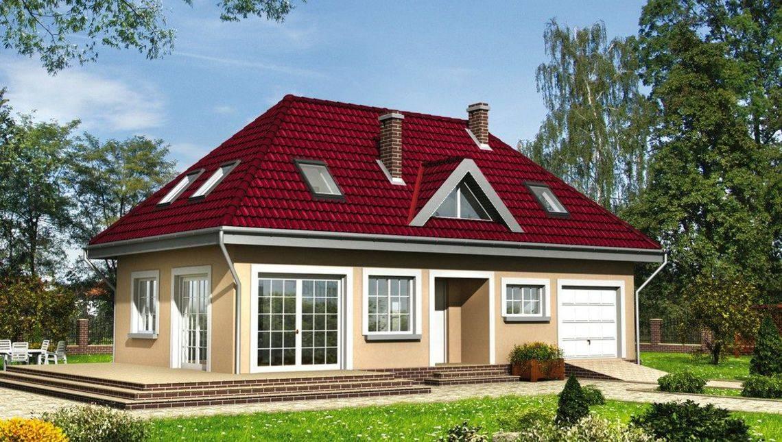 Комфортабельный жилой дом современной планировки