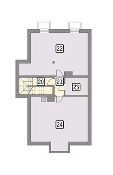Магазин с жилыми апартаментами на втором этаже
