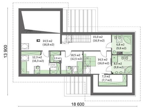 Проект шикарного особняка с уникальной планировкой