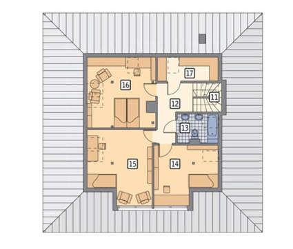 Проект великолепного коттеджа площадью 203 кв. м в современном европейском стиле