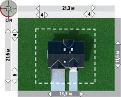 Просторная загородная усадьба с площадью 290 m²