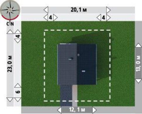 Стильная загородная усадьба со вторым этажом и просторными комнатами