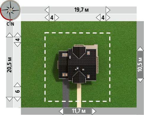 Великолепный проект компактного коттеджа 170 m²