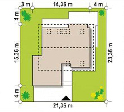 Двухэтажный коттедж площадью более 200 m²