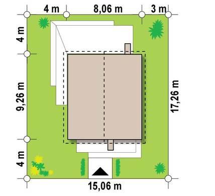 Компактный двухэтажный дом 8 на 11