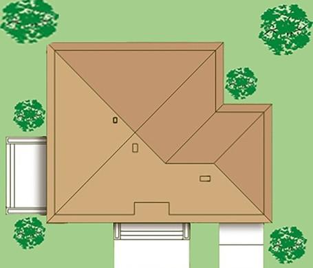 Стильный жилой дом с четырьмя спальнями