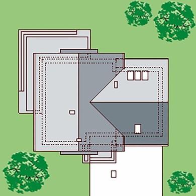 Двухэтажный особняк с просторным спортивным залом