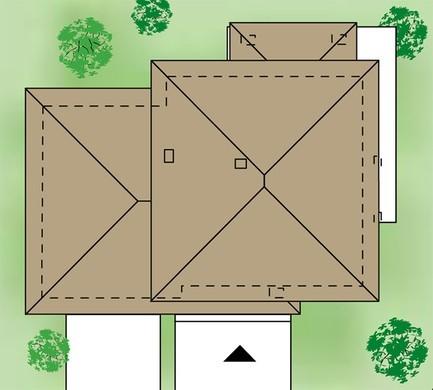 Особняк с пятью спальнями и просторным гаражом