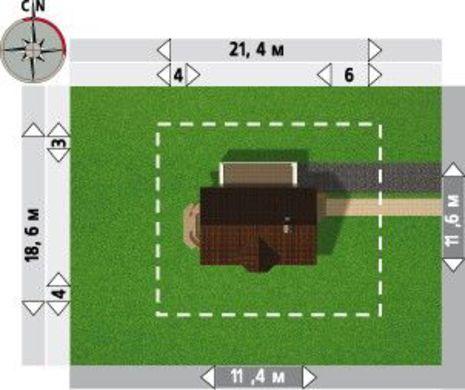 Изящный загородный дом удобной планировки